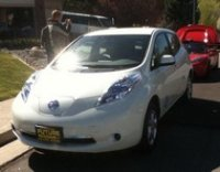 nissan electric car