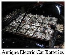 Antique Electric Car Batteries