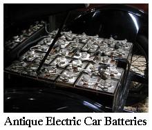 Antique Electric Car Batteries