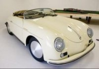 white speedster EV