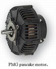 PMG pancake motor
