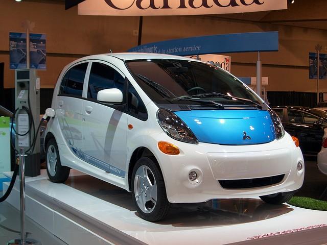 Mitsubishi electric car charging