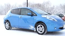 nissan leaf in winter