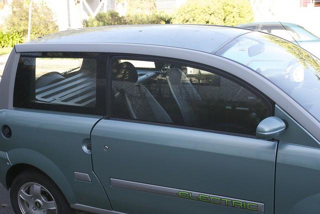 zenn electric car backseat