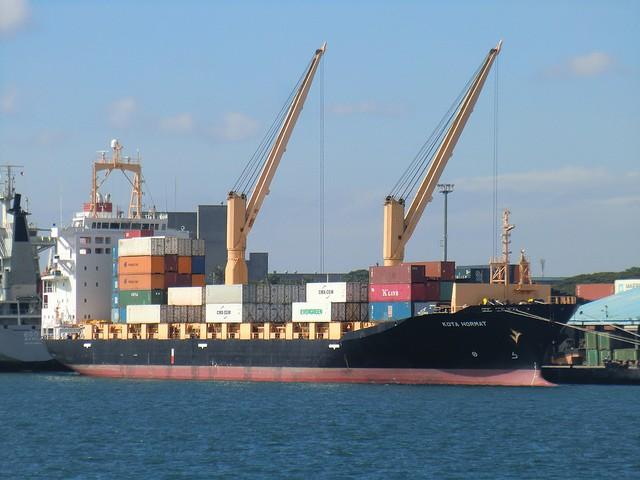 diesel cargo ship