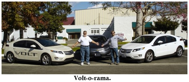 How Long Does It Take To Charge A Chevy Volt >> Jeff U'Ren's Chevy Volt: Happily Ever After