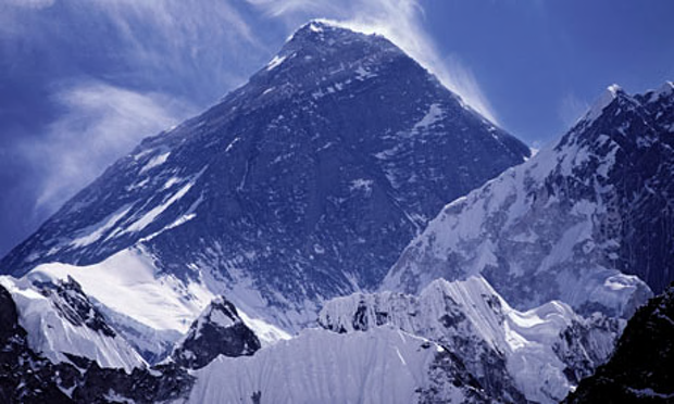 climate change mount everest
