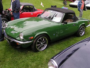 Triumph Spitfire - Great EV Conversion!