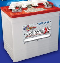 8 volt golf cart battery