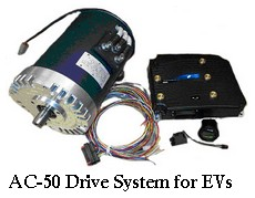 ac 50 electric motor system