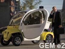 GEM electric sedan