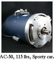 HPEVS AC-50 motor