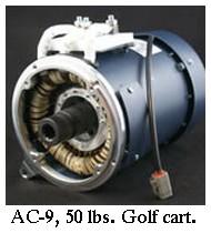 HPEVS AC-9 motor