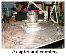transmission adaptor and coupler