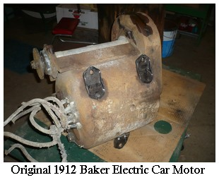 Baker Electric Car