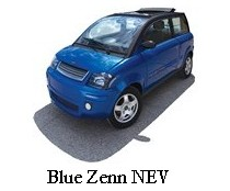 blue ZENN NEV