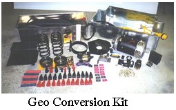 electric car conversion kit geo