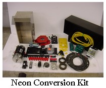 Neon conversion kit