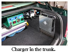 charger in the trunk
