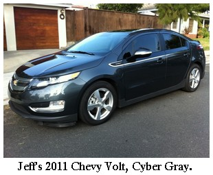 gray chevy volt