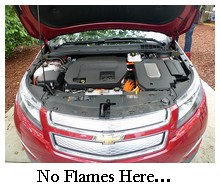 chevy volt under hood