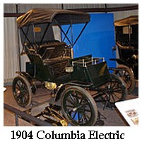 columbia electric runabout