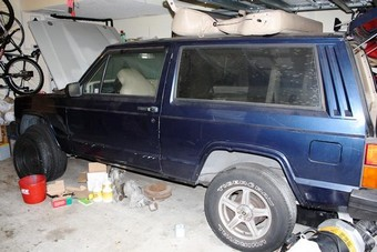 Jeep Cherokee EV Conversion