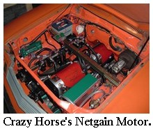 Electric Race Car Motors Crazy Horse Motor