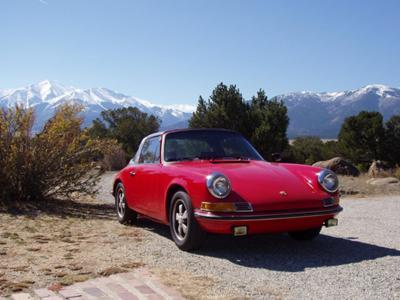 Porsche 911 T Targa Electric Car Conversion Candidate