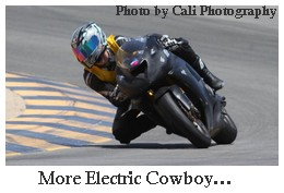 zero electric motorcycle, electric cowboy