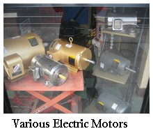 various electric motors