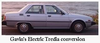 electric tredia