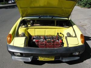 EV Batteries (Meter is on the dash!)