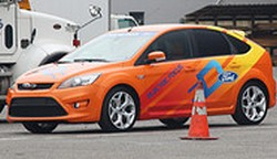 ford focus electric orange