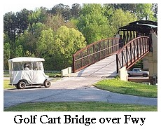 golf cart bridge
