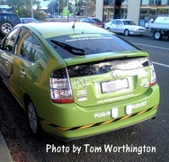 green plug in prius