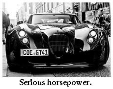 serious horsepower!