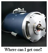 Hpevs Electric Car Motor