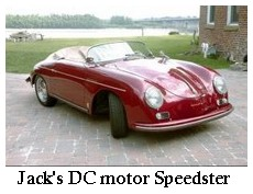 Jack's electric speedster