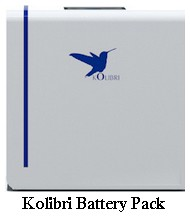 kolibri battery pack