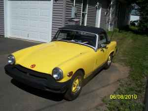 MG Midget Electric Car Conversion