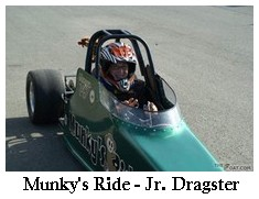 Munky's Ride Jr. Dragster