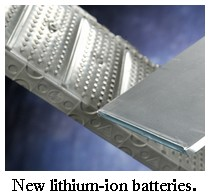 new lithium ion batteries