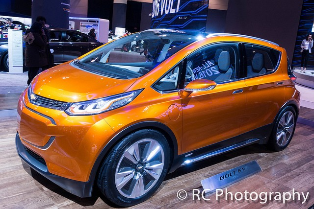orange chevy bolt