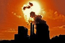 pollution plant