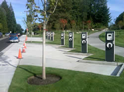 electric car charging stations - olympia WA