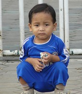 cute indonesian kid