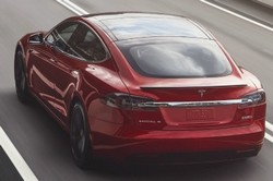 tesla s electric car