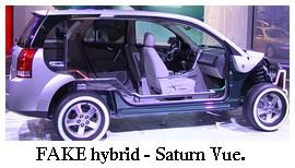 Saturn Vue hybrid