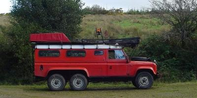 Stretched Land-Rover Electric Car Conversion